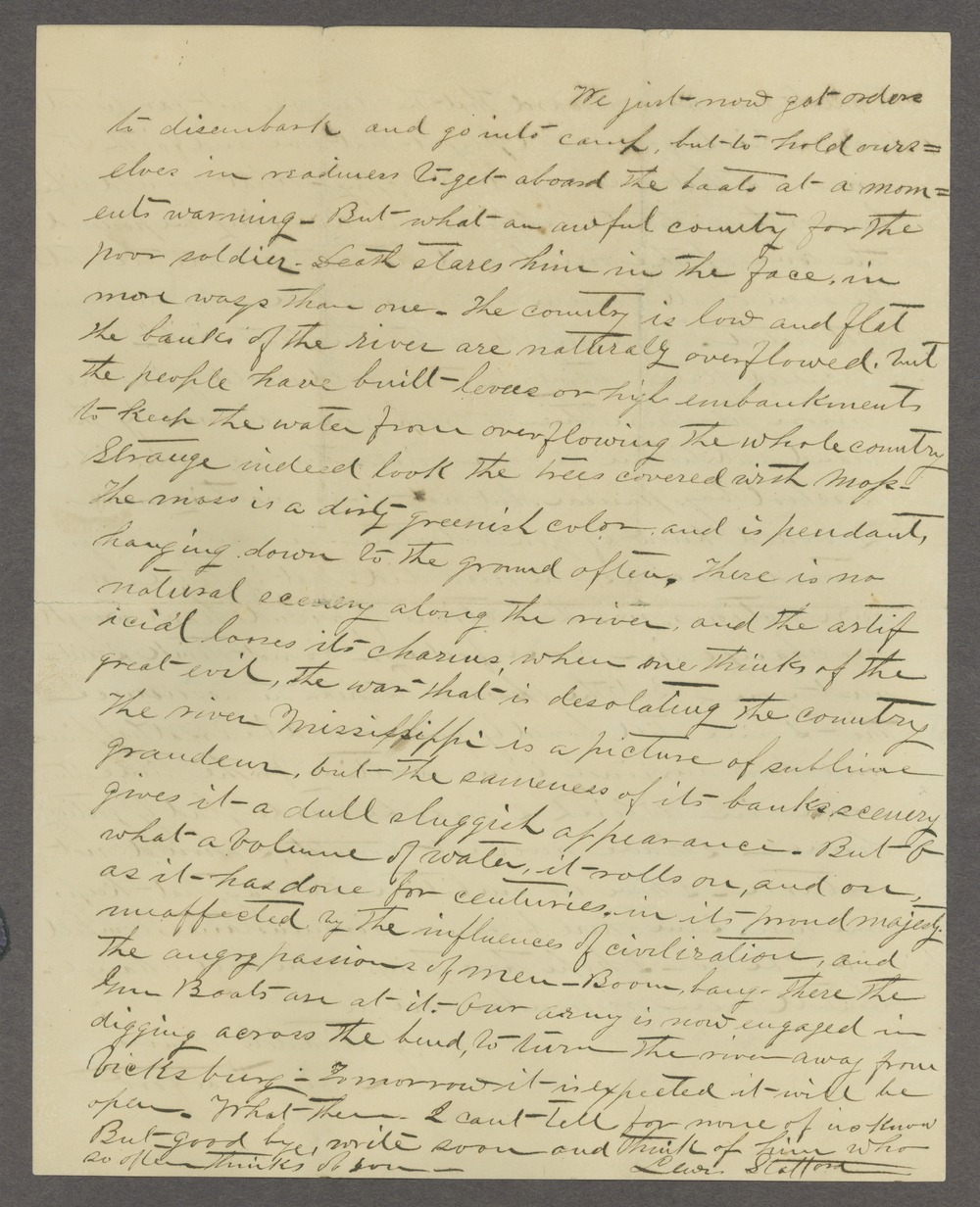 Lewis Stafford to Kate Newland correspondence - 156