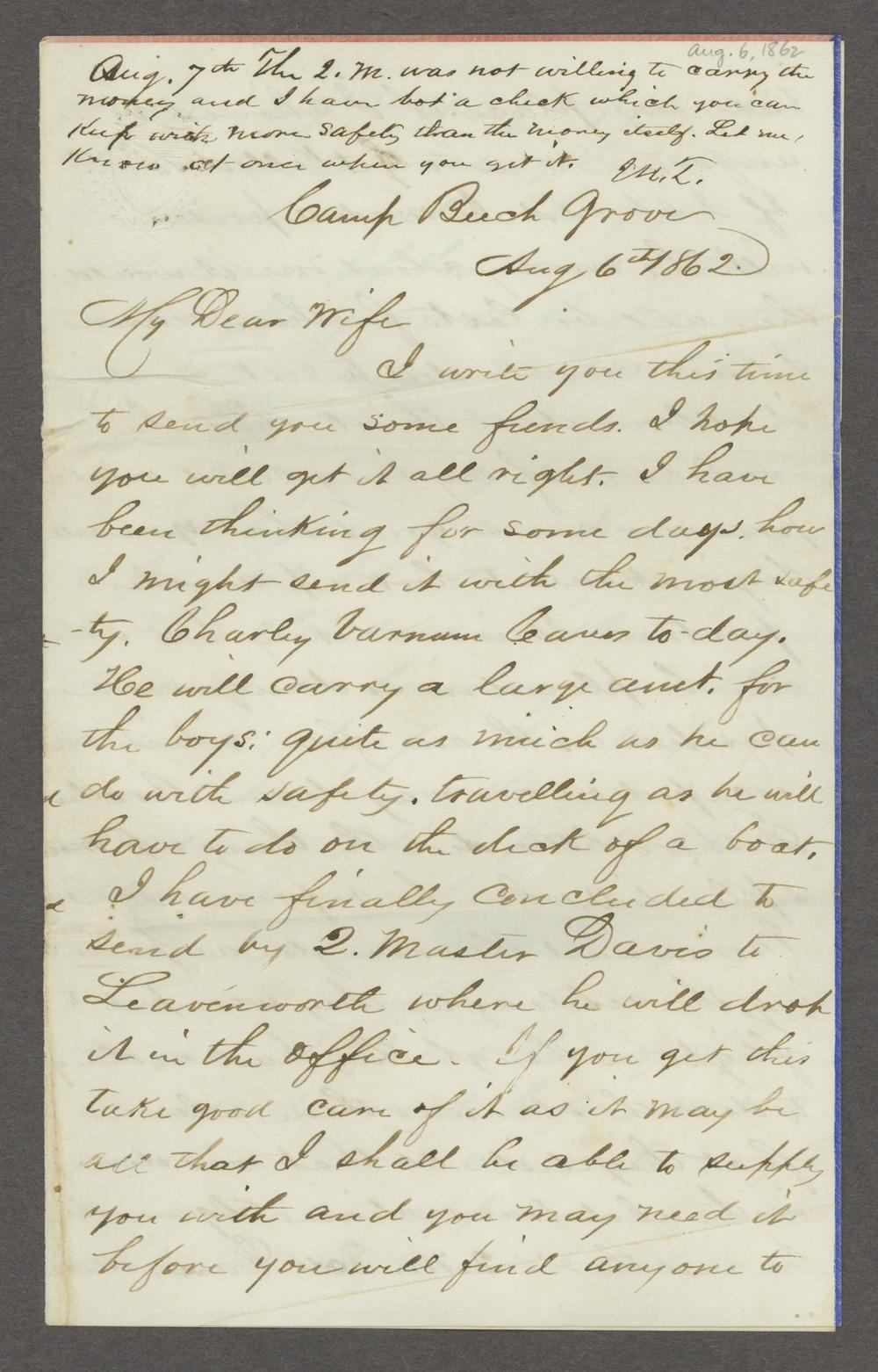 Joseph H. Trego correspondence - 3