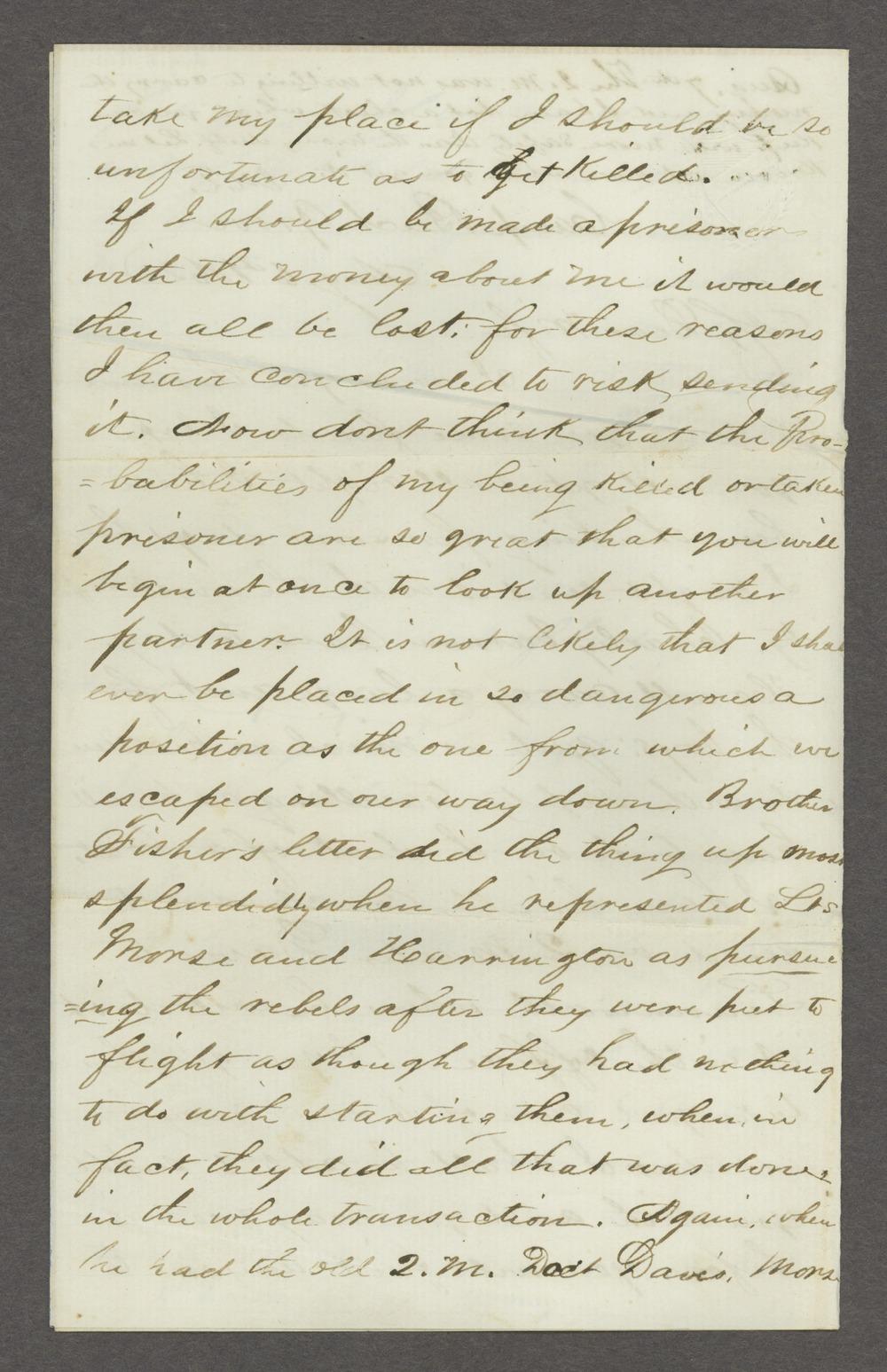 Joseph H. Trego correspondence - 4