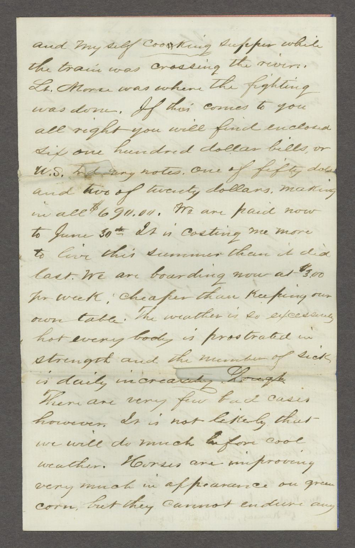 Joseph H. Trego correspondence - 5