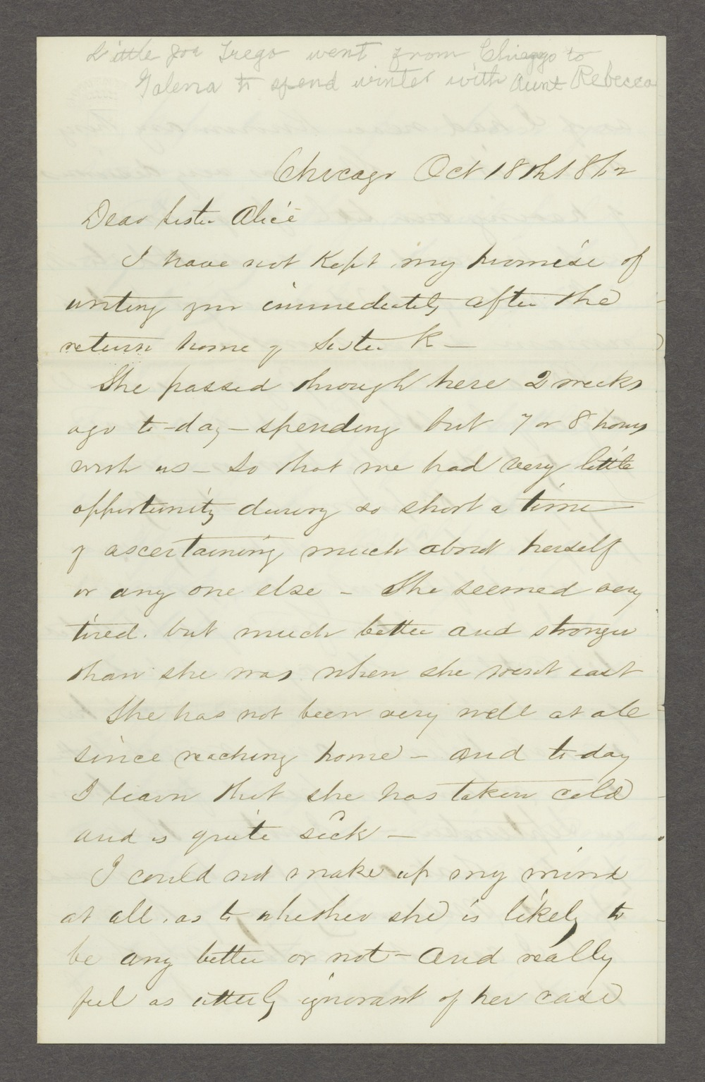 Joseph H. Trego correspondence - 11