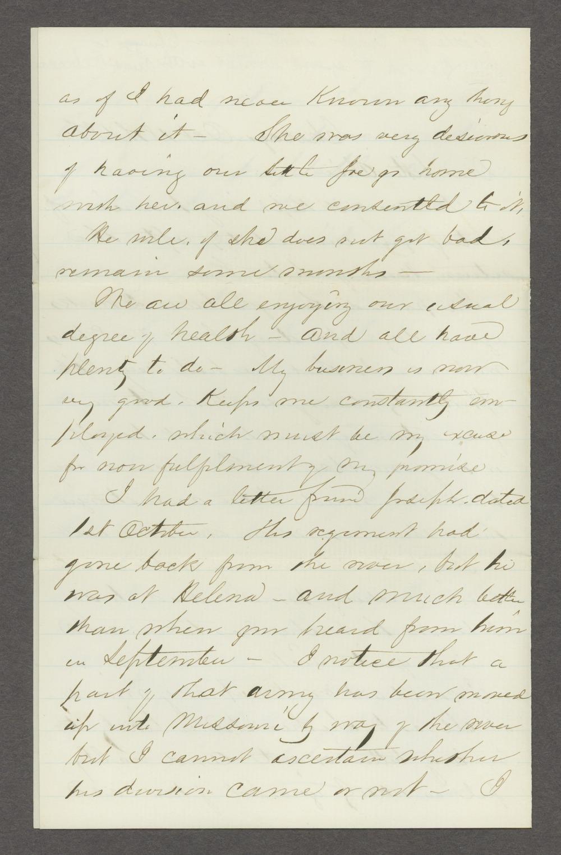 Joseph H. Trego correspondence - 12