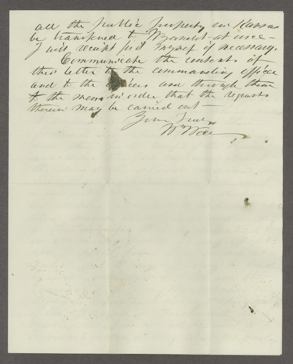James Madison Harvey correspondence - 3
