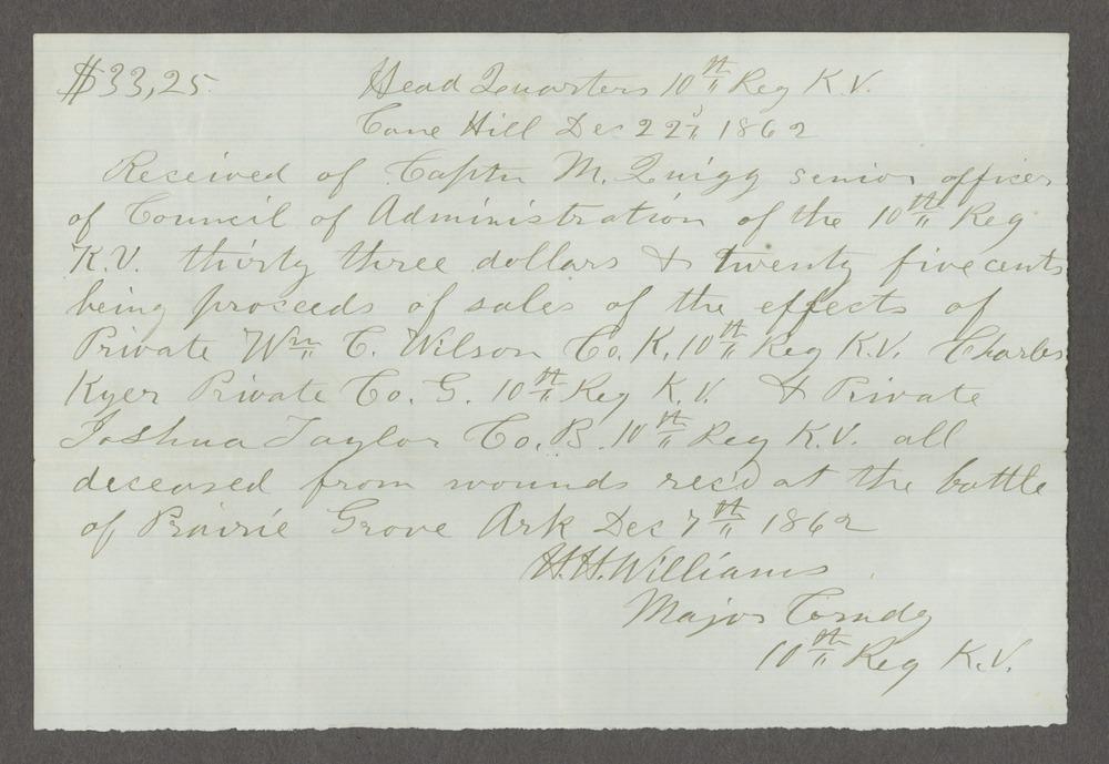 James Madison Harvey correspondence - 5