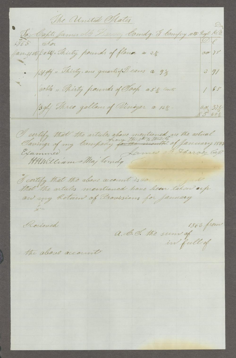 James Madison Harvey correspondence - 10