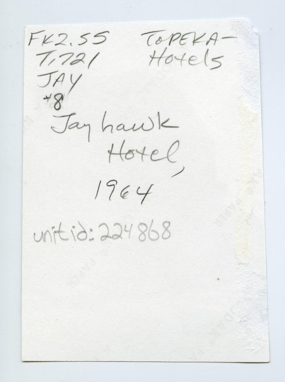 Jayhawk Hotel, Topeka, Kansas - 2