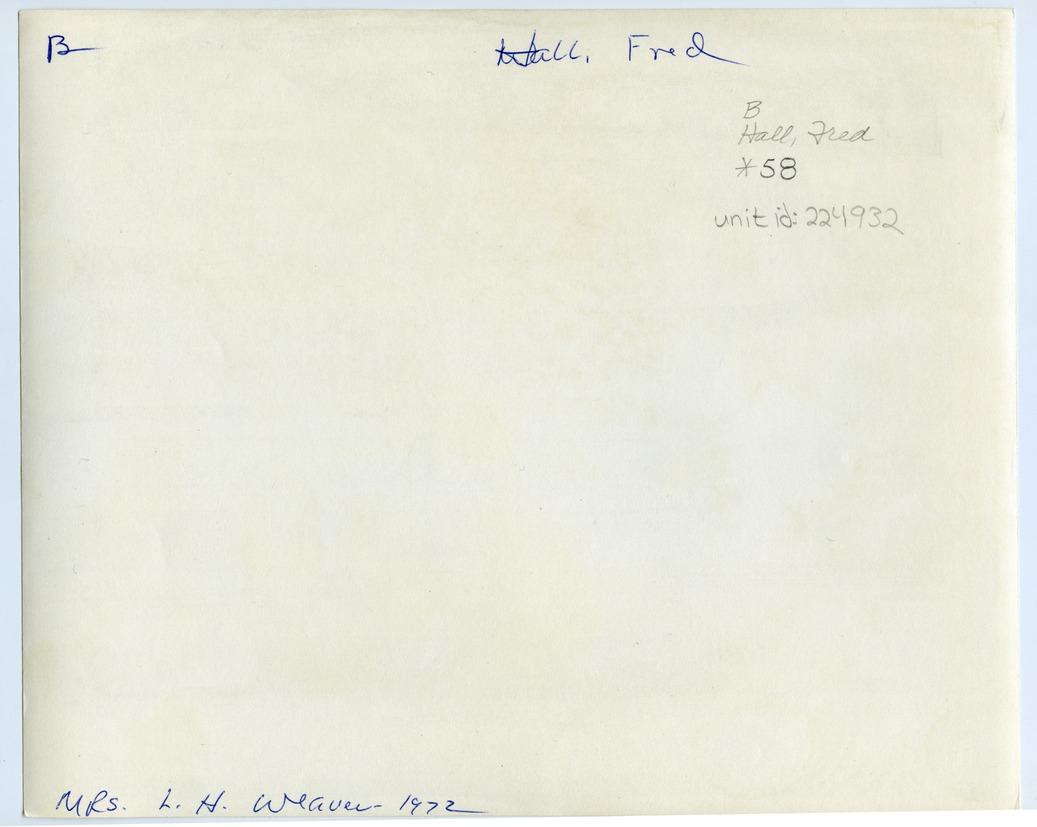Frederick Lee Hall - 2