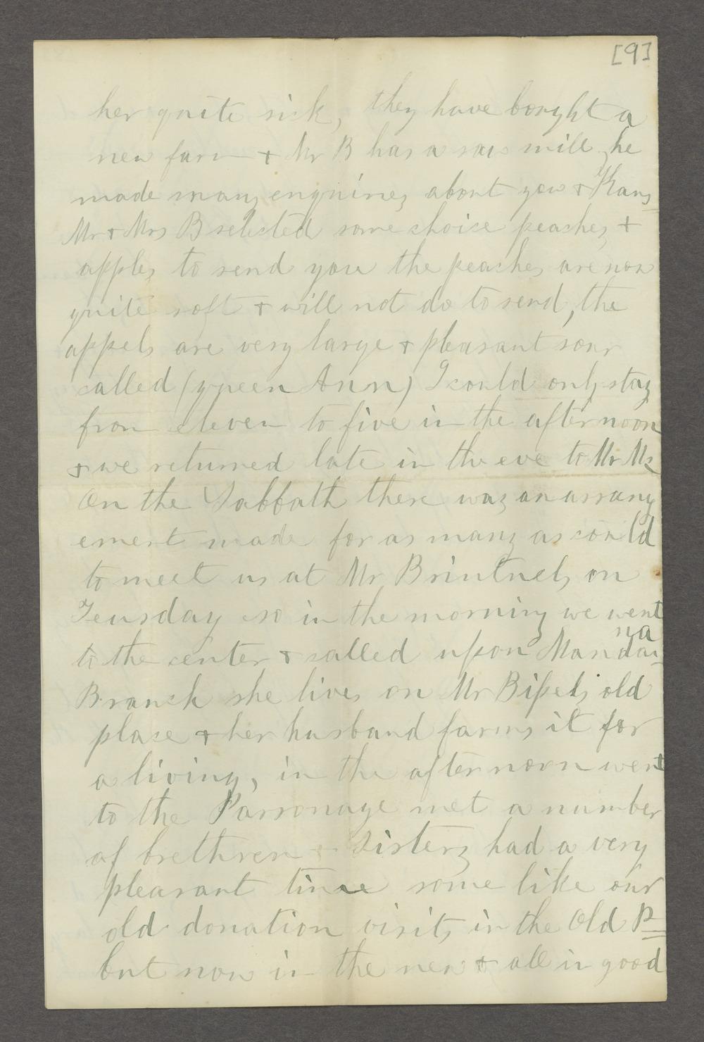 Correspondence between Samuel Lyle Adair, Florella Brown Adair, and their children - 12