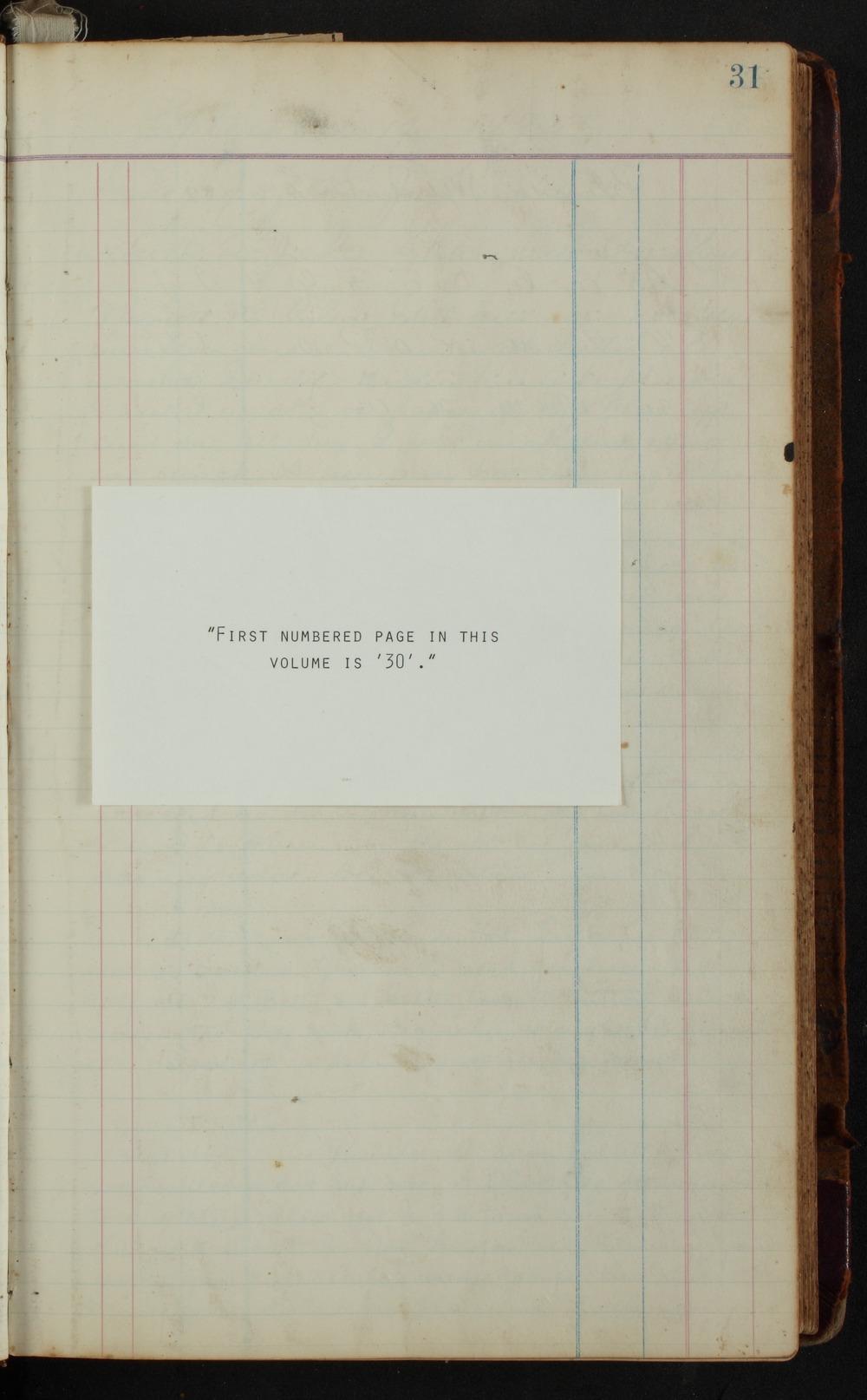 Samuel Reader's diary, volume 14 - 31