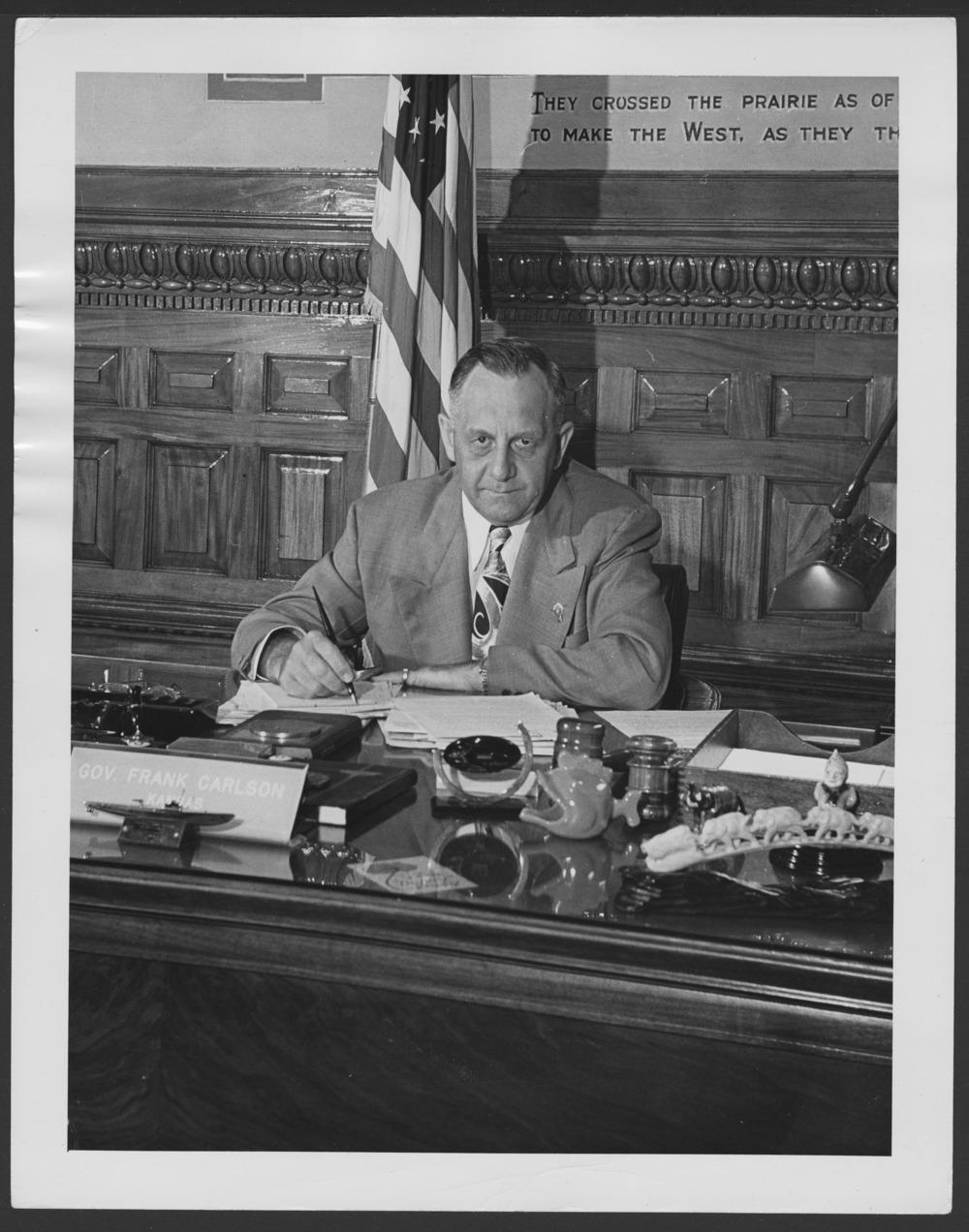 Governer Frank Carlson