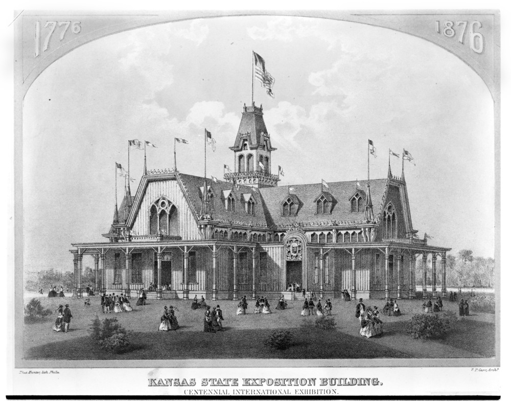 Kansas State Exposition Building, Philadelphia, Pennsylvania