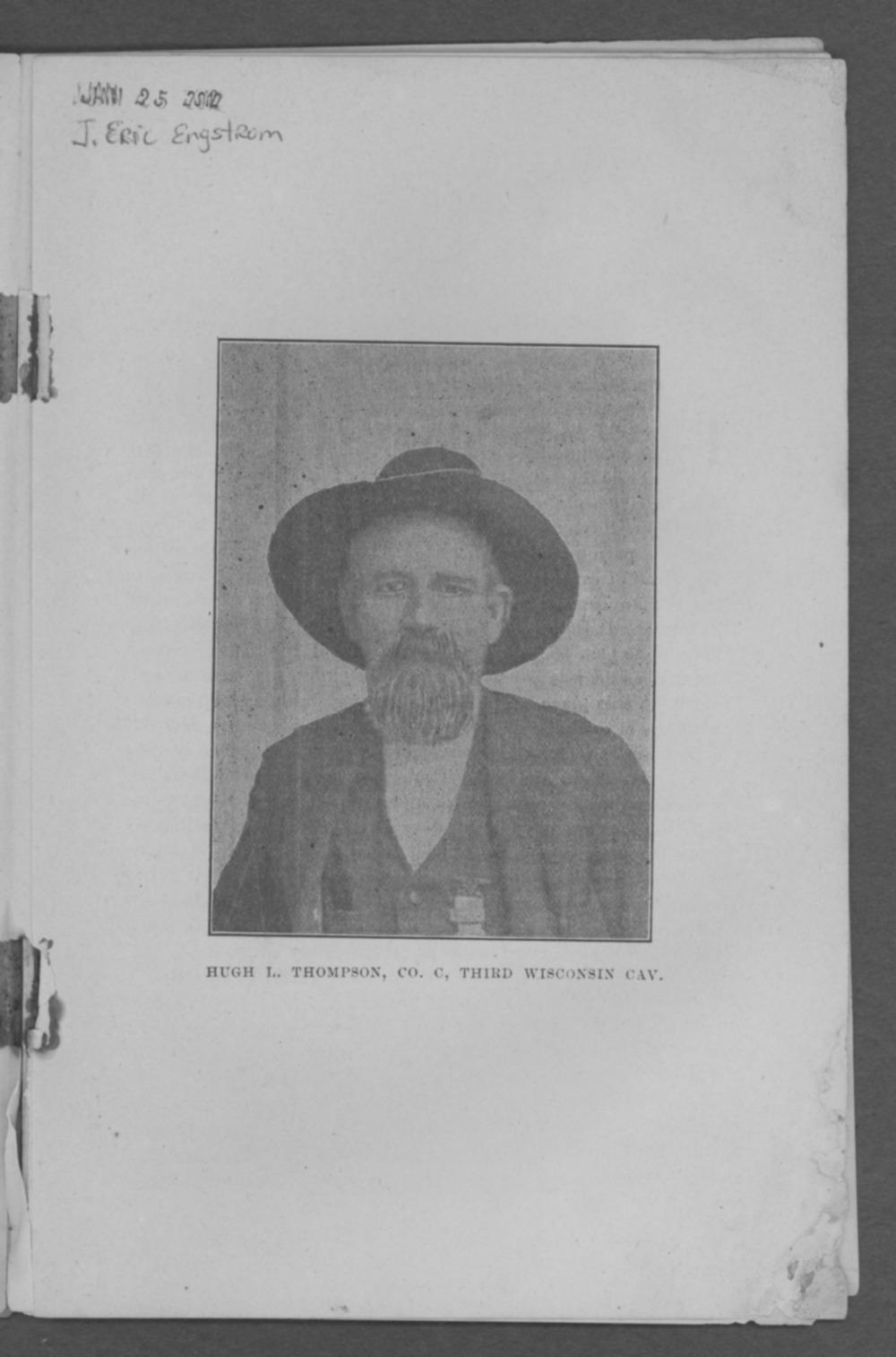 Baxter Springs as a military post - Hugh L. Thompson