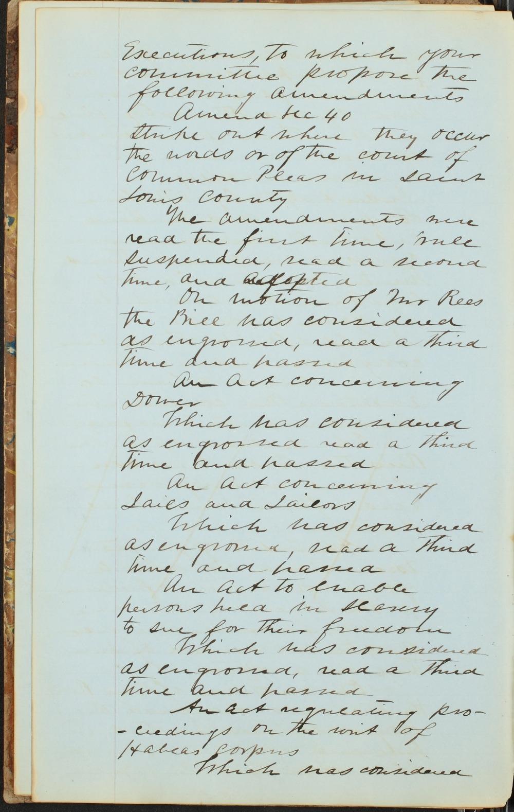 Kansas Territory council journal - 6
