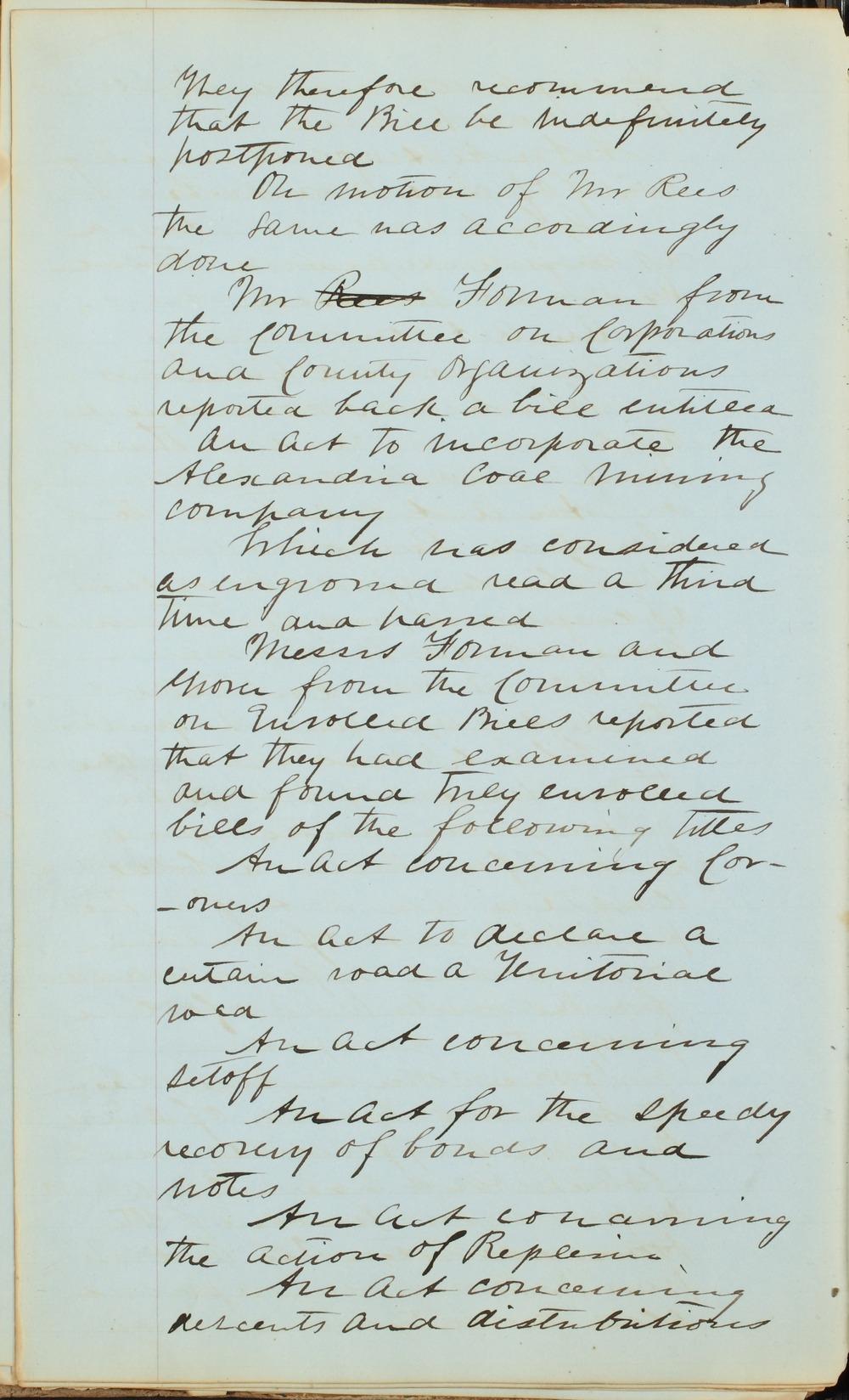 Kansas Territory council journal - 8