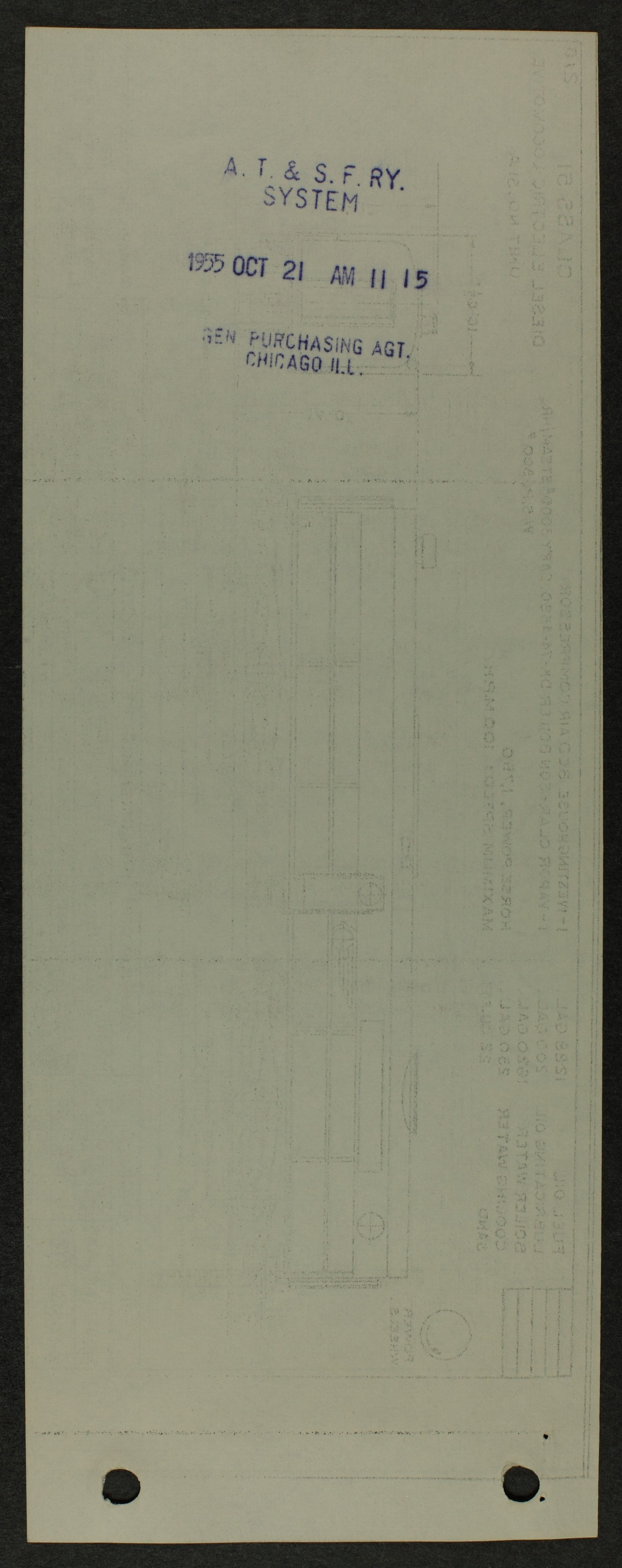 Atchison, Topeka and Santa Fe diesel engine diagrams and blueprints - 5