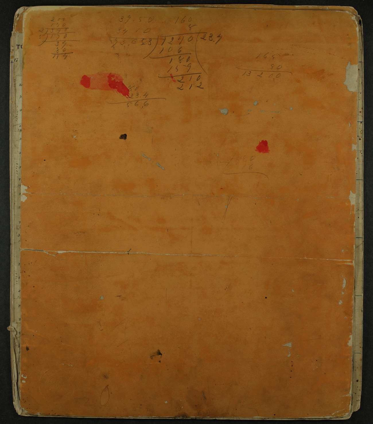 Shawnee Indian reservation plat maps of 1854 - 10