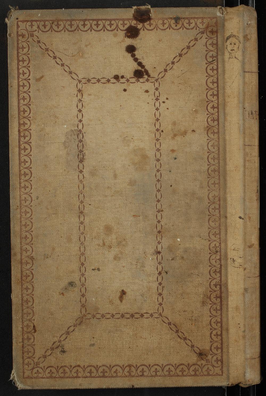 Samuel Reader's diary, volume 10 - Back Cover