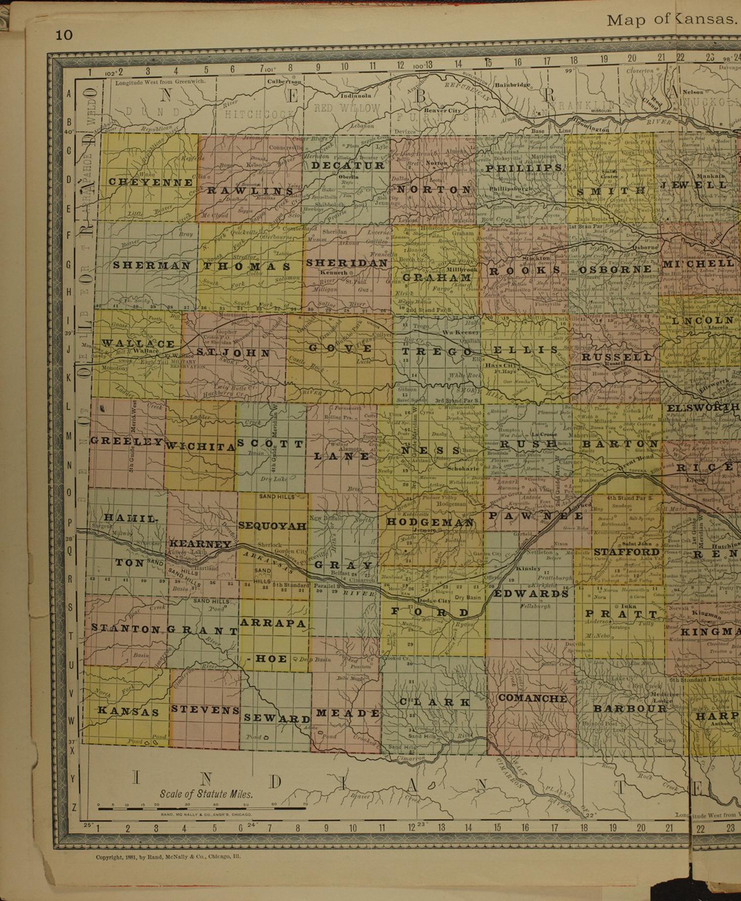 Historical plat book of Washington County, Kansas - 10