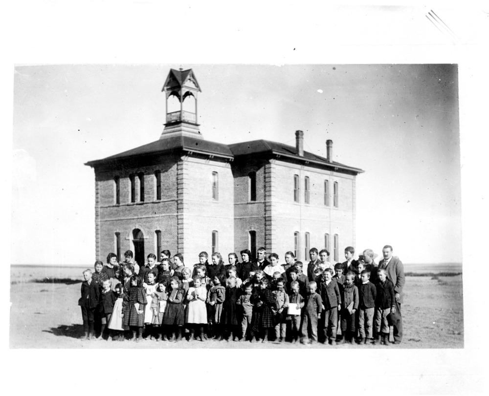 Schoolhouse, Sharon Springs, Kansas