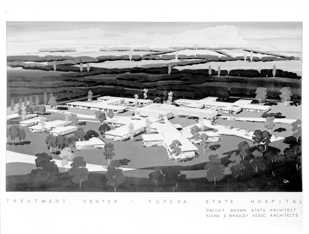 Sketches  for Topeka State Hospital in Kansas - 2