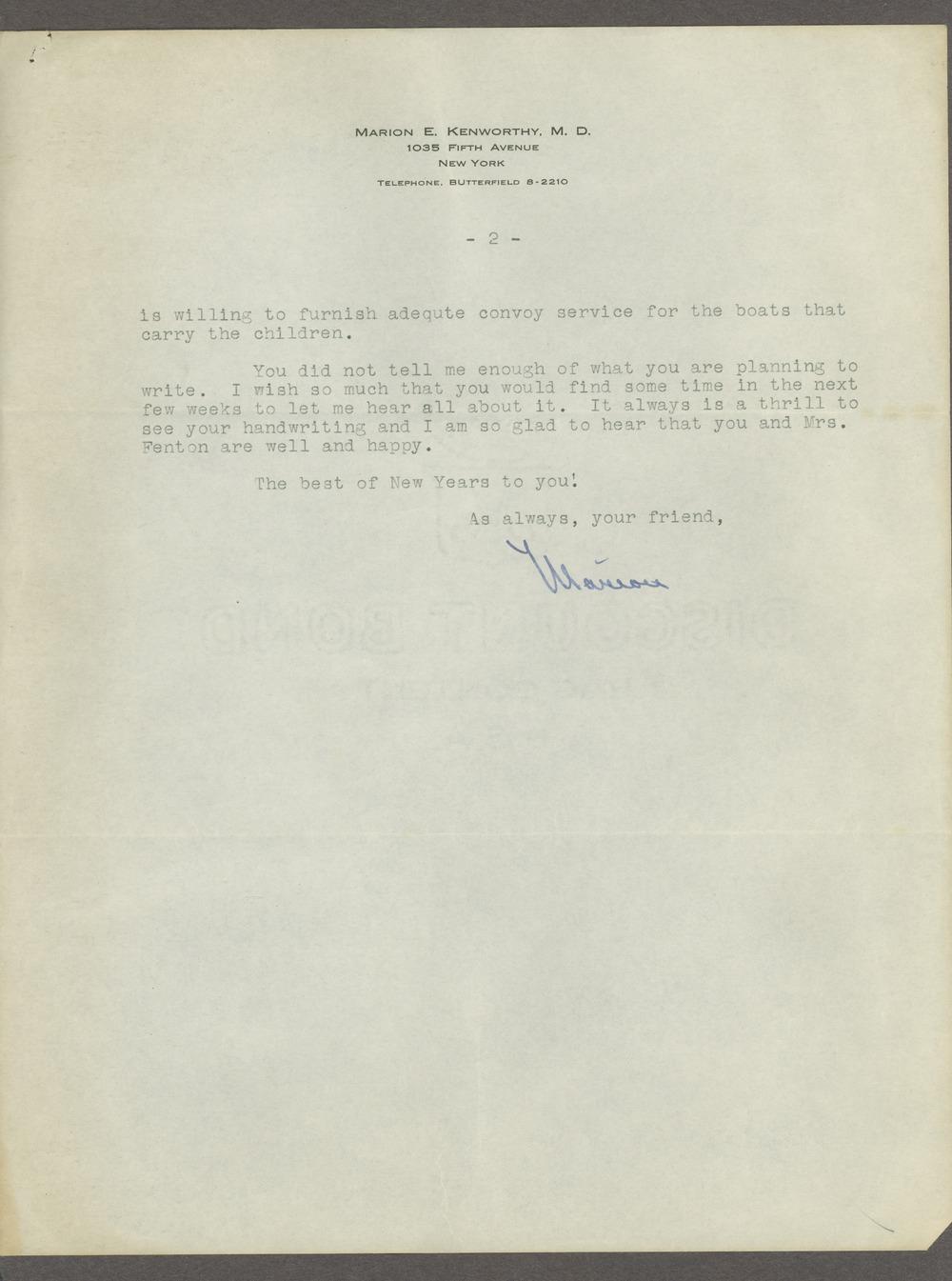 Frankwood E. Williams Papers - 2