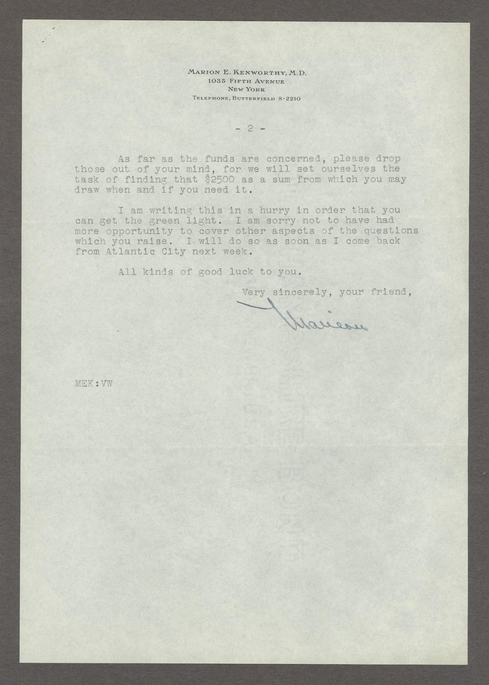 Frankwood E. Williams Papers - 9