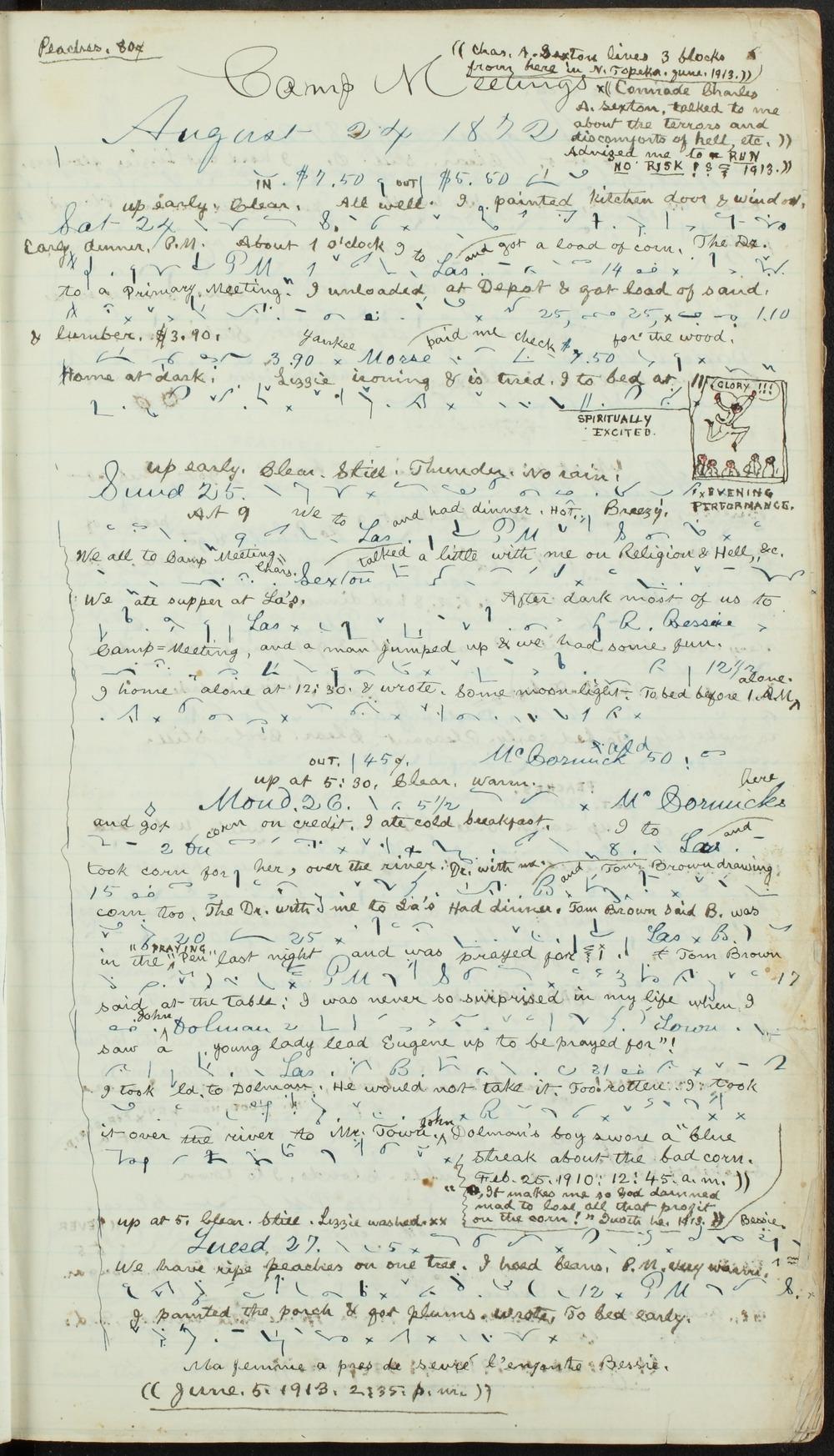 Samuel Reader's diary, volume 8 - 3