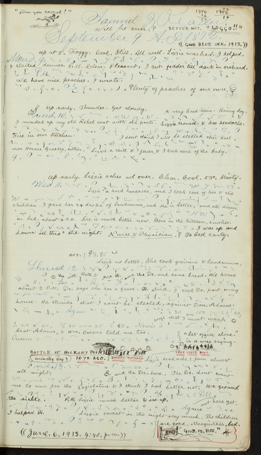 Samuel Reader's diary, volume 8 - 7