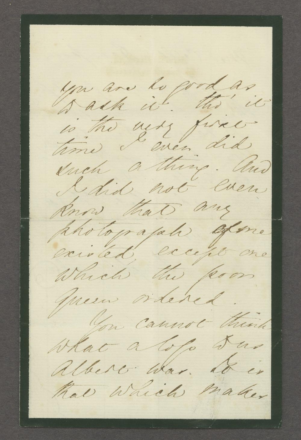 Florence Nightingale correspondence - 3