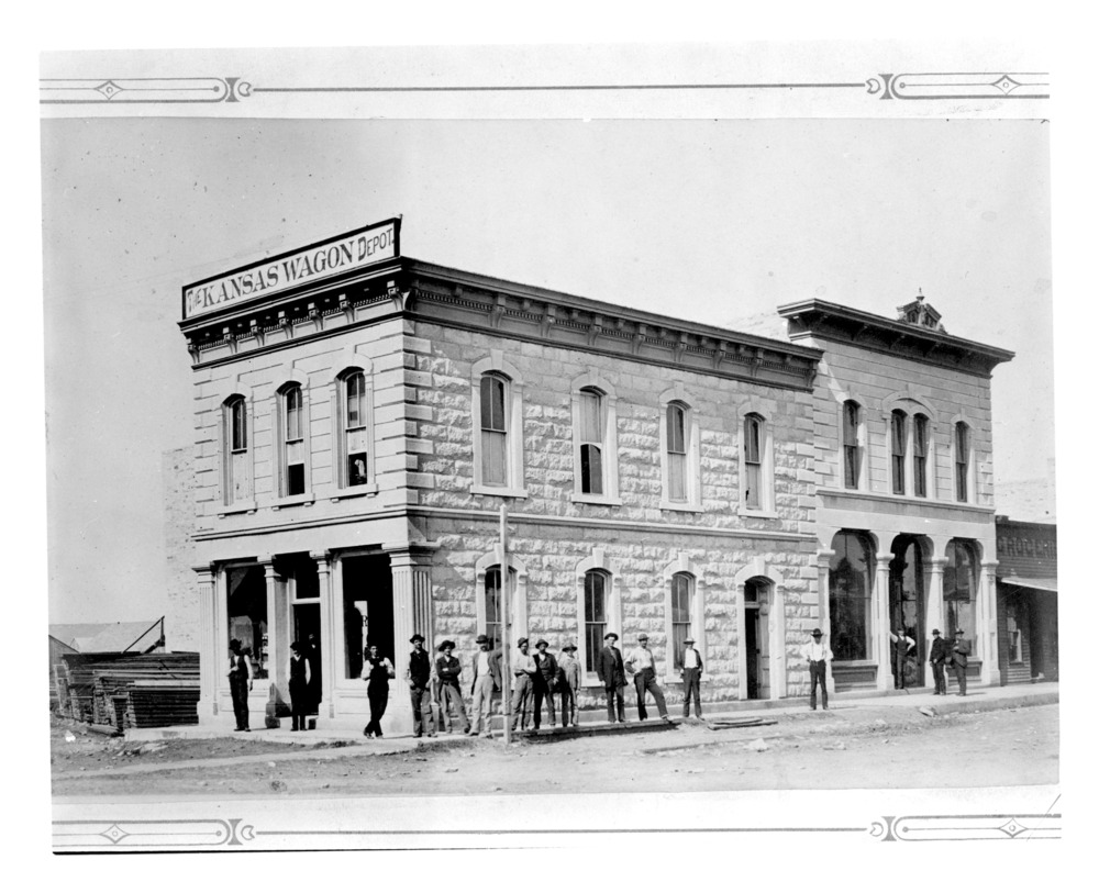 Kansas Wagon Depot Hotel, Strong City, Kansas