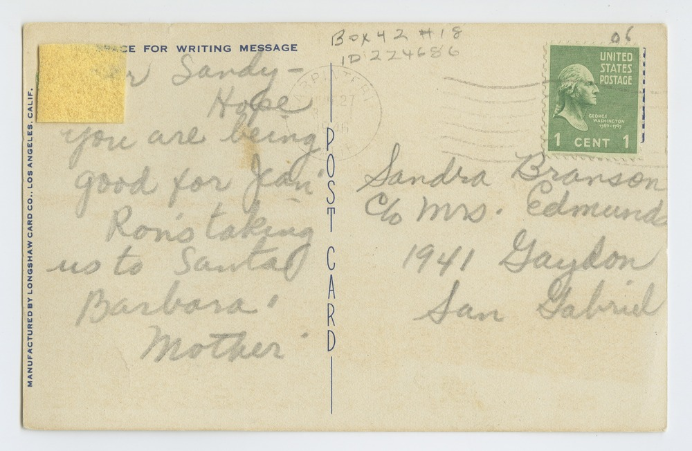 Postcards from various state hospitals - 2