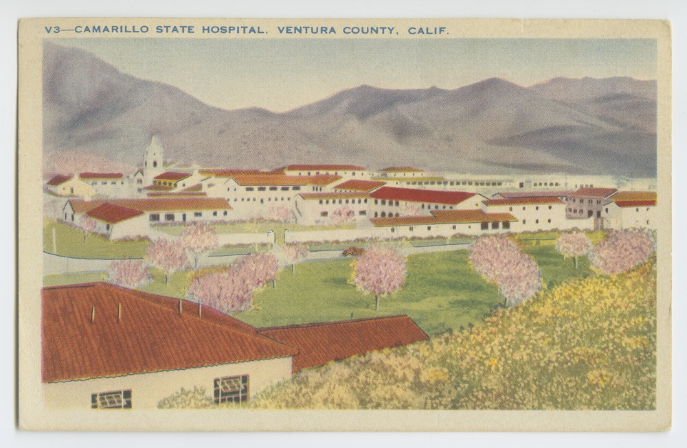 Postcards from various state hospitals - Camarillo State Hospital, Ventura County, Cal.