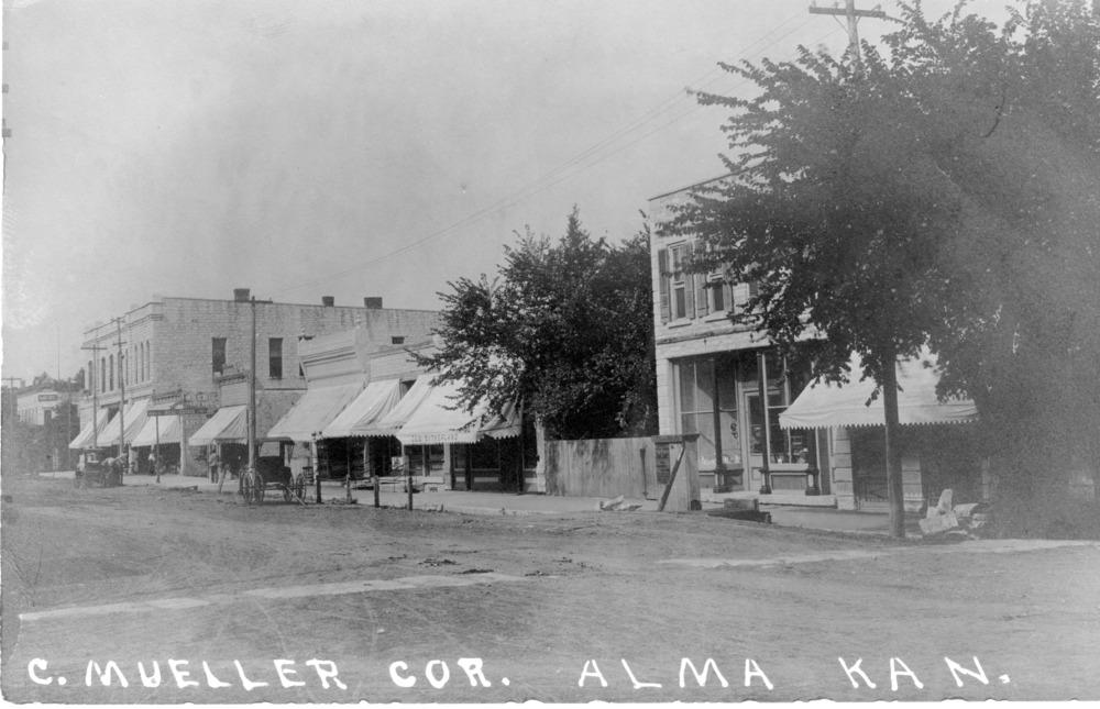 Conrad Mueller Hardware at 304 Missouri Street, Alma, Kansas