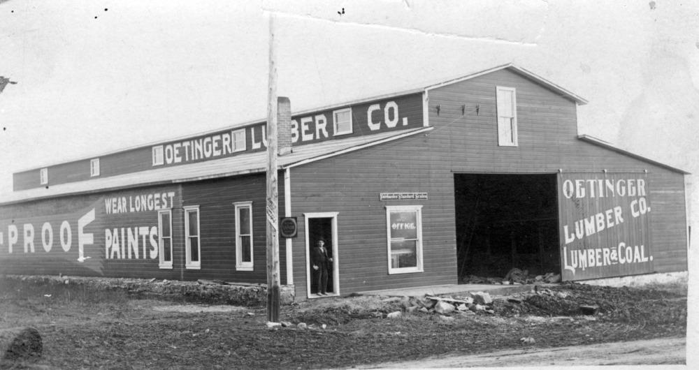 Oetinger Lumber Co.,  Alma, Kansas