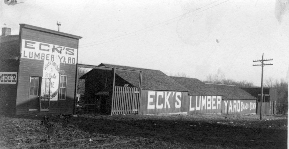Eck Lumber Company,  Alma, Kansas