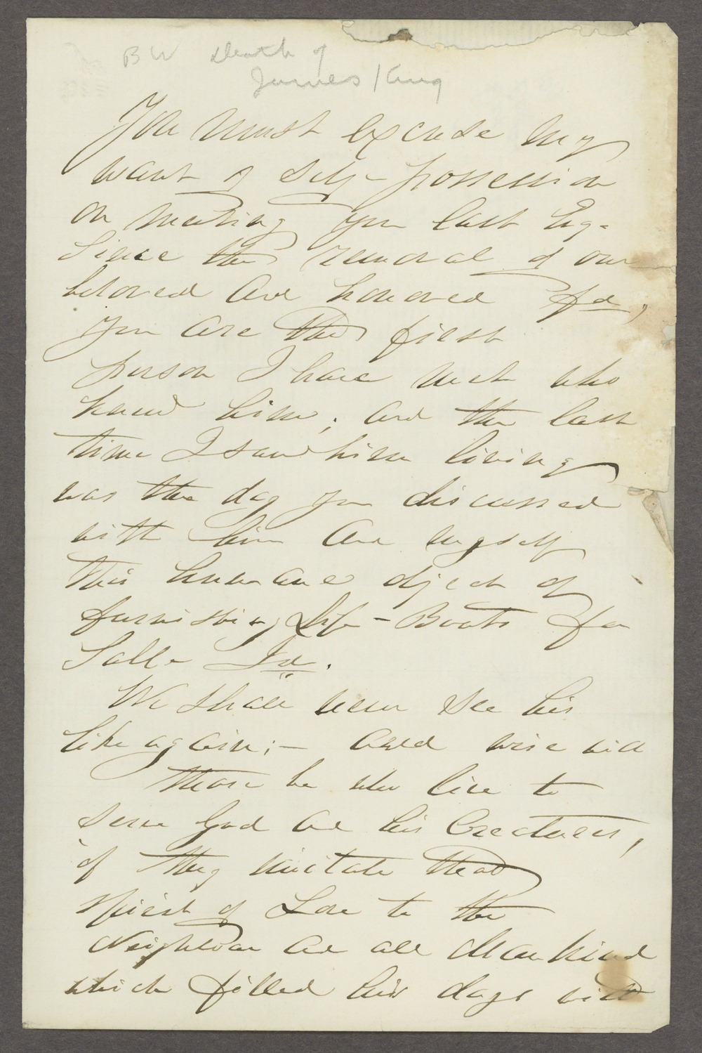 Dorothea Dix correspondence - 1 [Box 1 Folder 2]