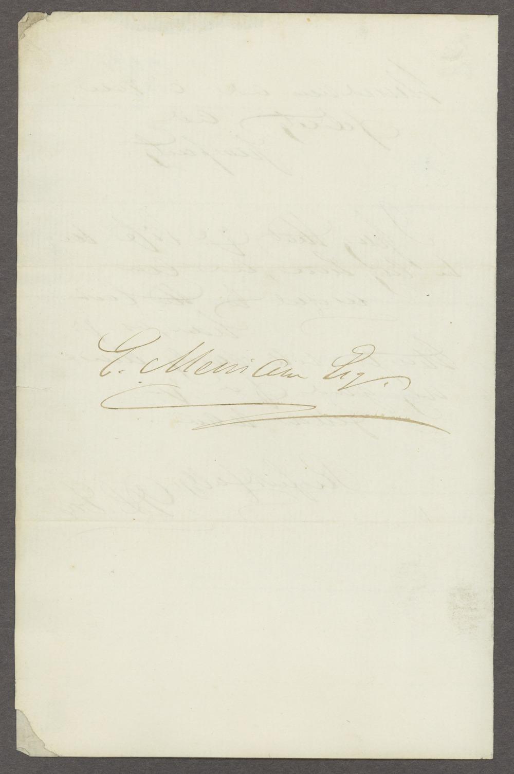 Dorothea Dix correspondence - 3