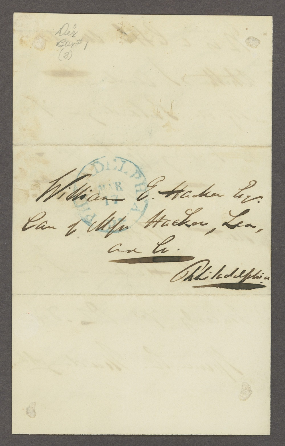 Dorothea Dix correspondence - 4