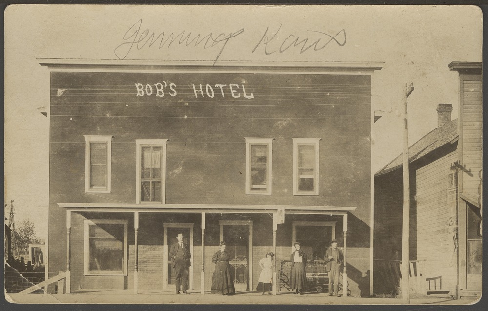 Bob's Hotel in Jennings, Kansas