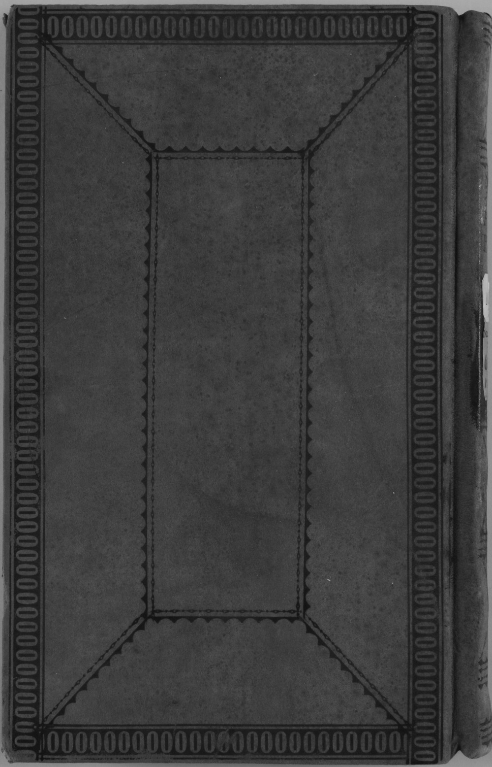 United States Office of Indian Affairs, Central Superintendency, St. Louis, Missouri. Volume 32, Claims under 1824 Sac and Fox Treaty - Back Cover