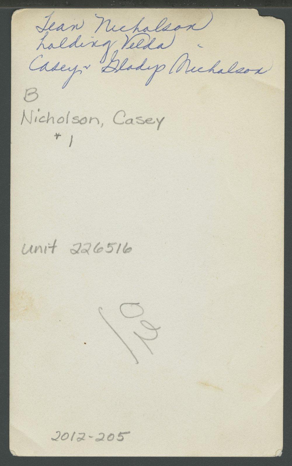 Christena, Velda, Casey and Gladys Nicholson in Decatur County, Kansas - 3