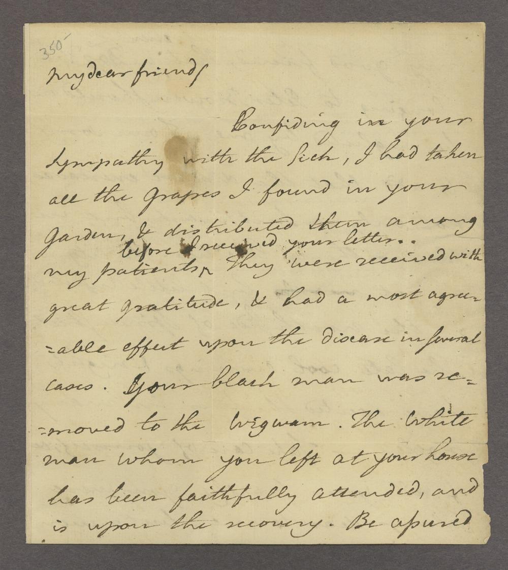 Benjamin and Richard Rush papers - 1 [Box 1 Folder 2]