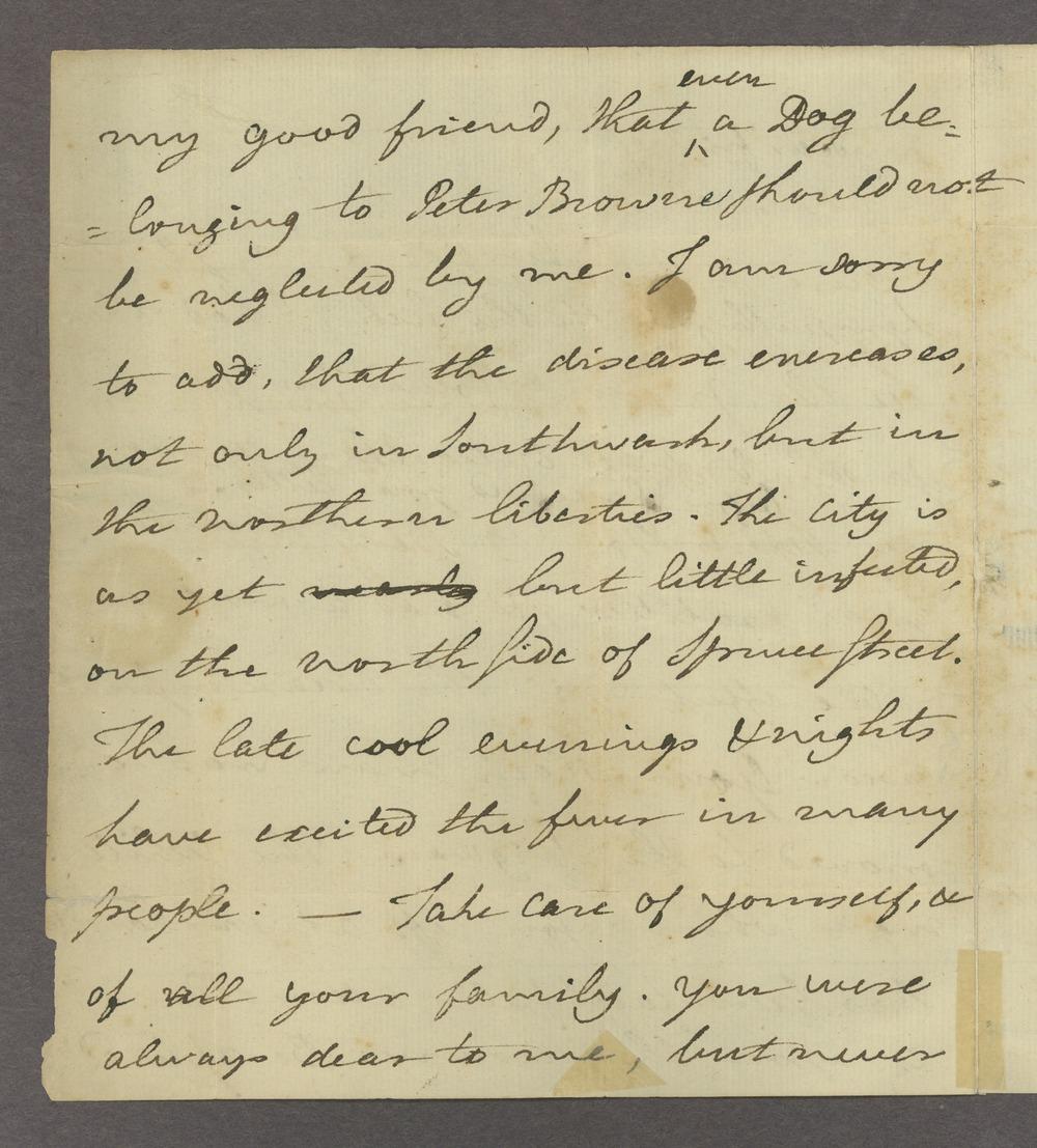 Benjamin and Richard Rush papers - 2