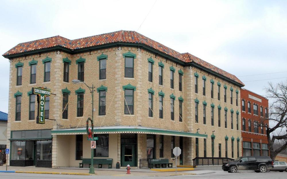 Greenwood Hotel in Eureka, Kansas - 1