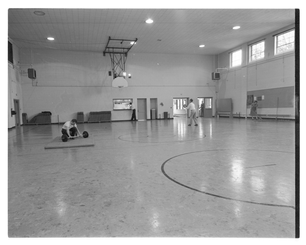 Interior of Hopkins Gymnasium, Menninger Clinic, Topeka, Kansas - 2