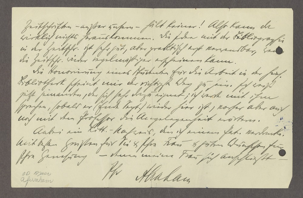 Historic Psychiatry original miscellaneous documents - 2