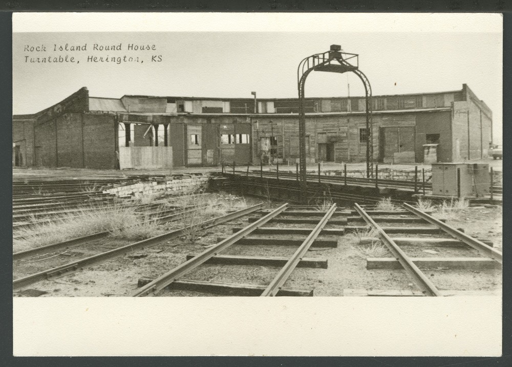 Chicago, Rock Island and Pacific Railroad roundhouse