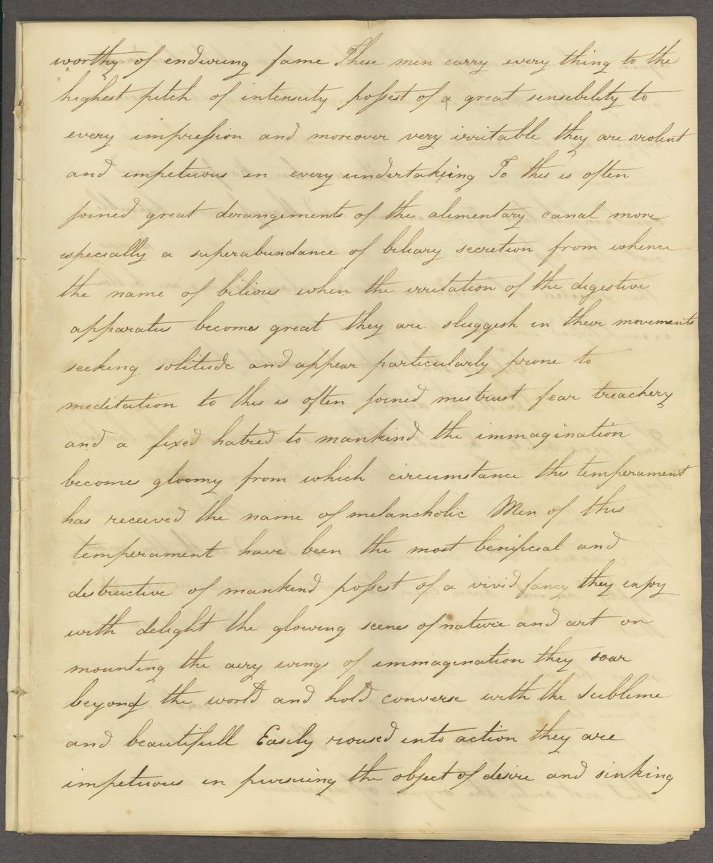 Historic Psychiatry original miscellaneous documents - 5