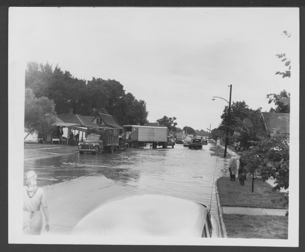 Allen County, Kansas, floods--1951 - 1