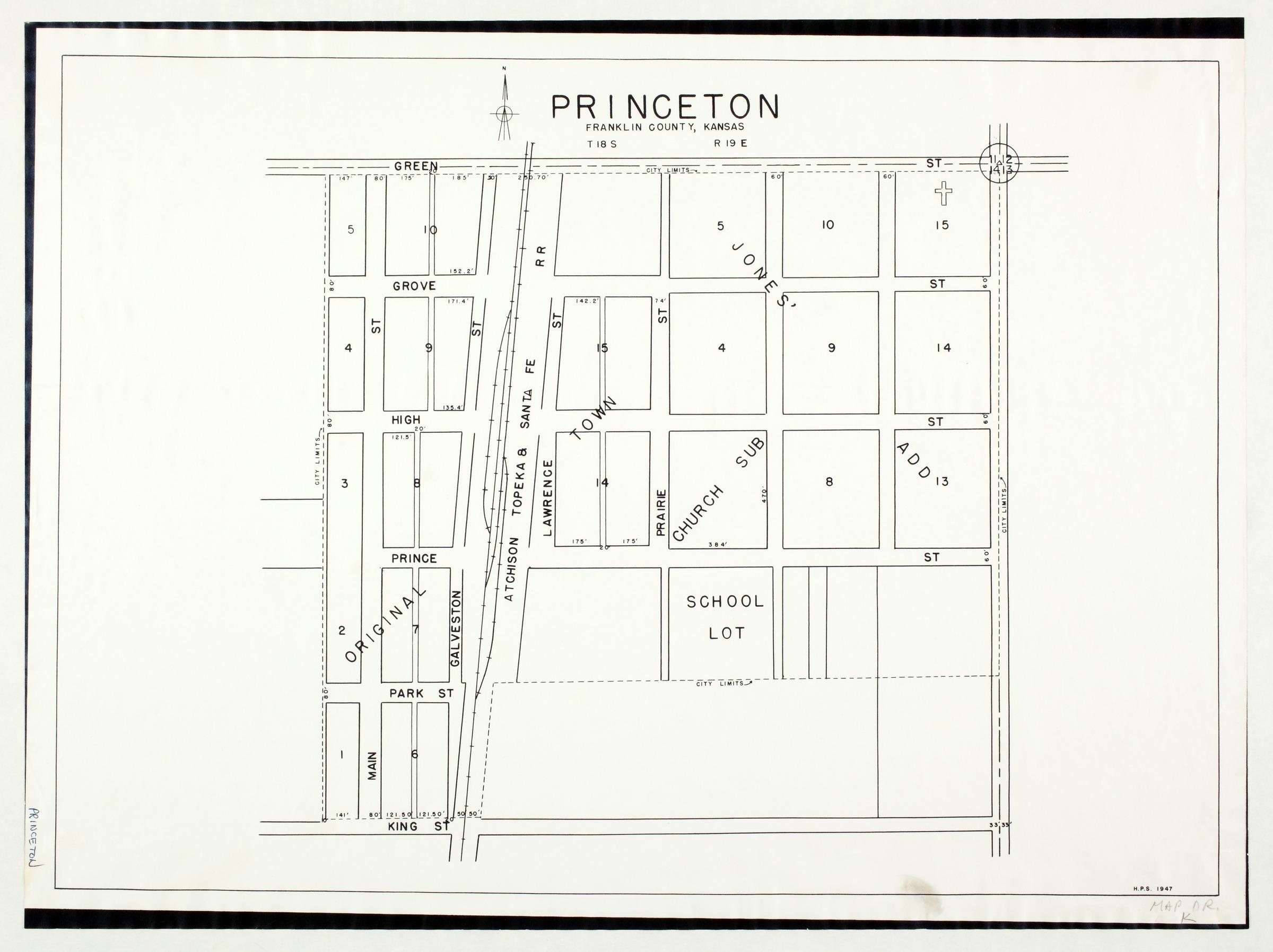Princeton, Franklin County, Kansas